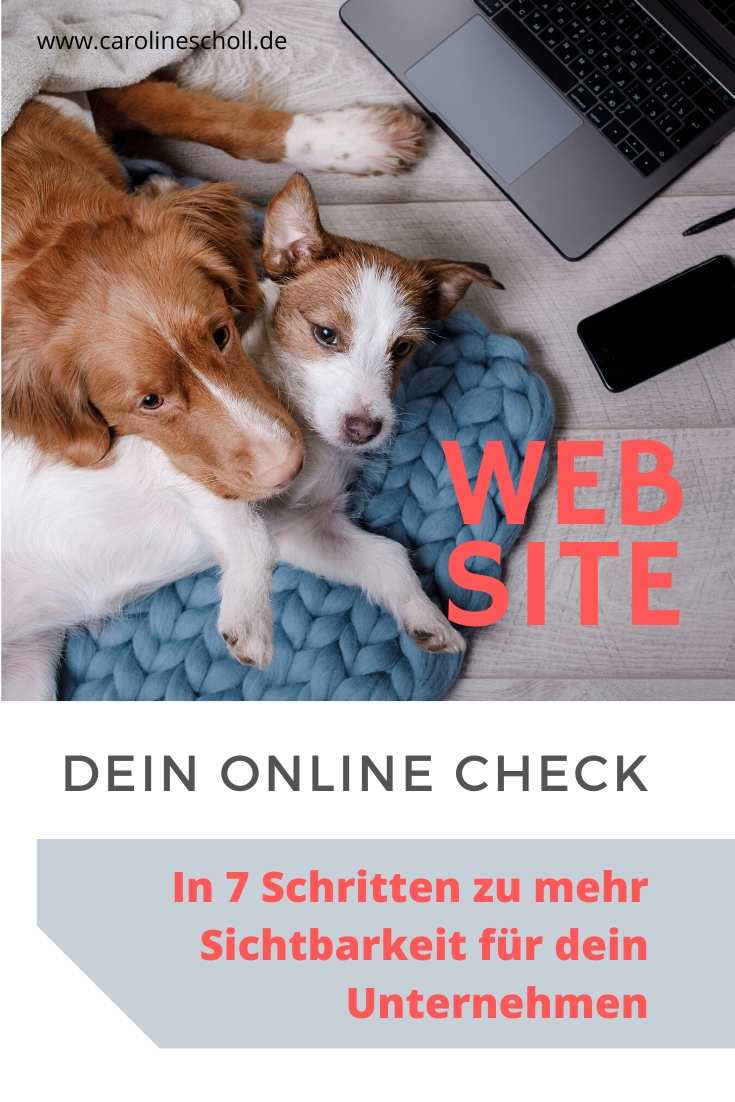 Website, Online Check